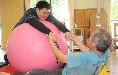 体を動かす運動の写真